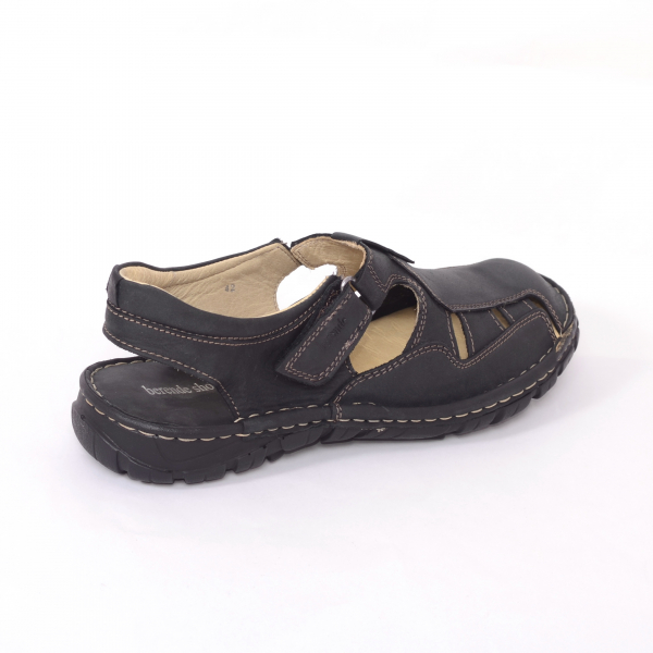 Sandale barbati 334 Negru 1
