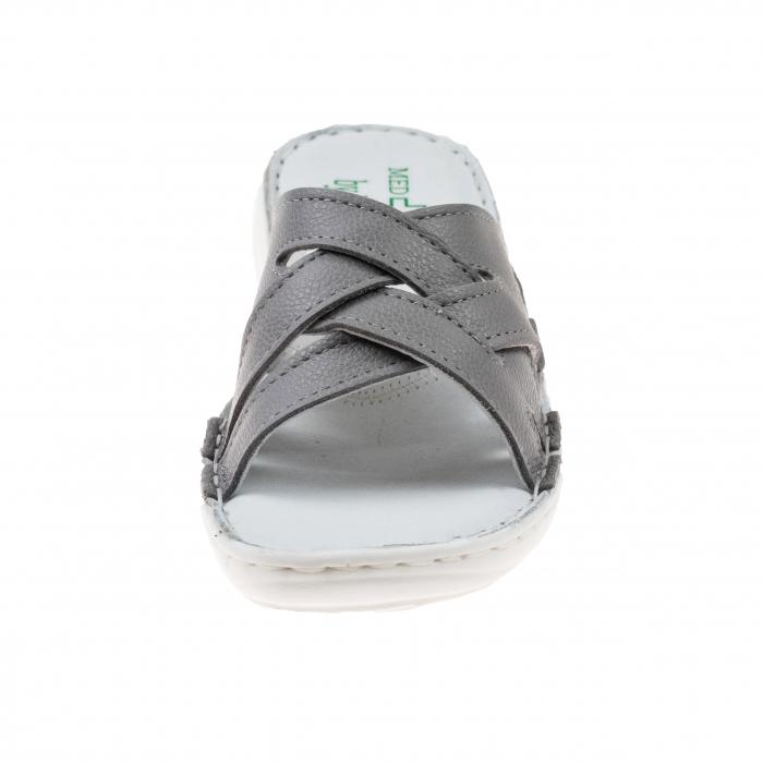 Papuci confortabili dama 472 Grey 1