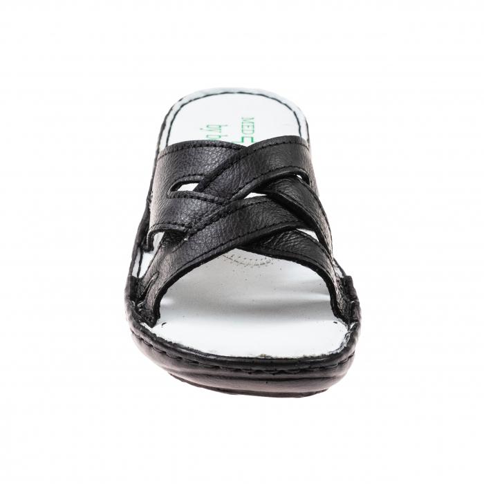 Papuci confortabili dama 472 Negru 1