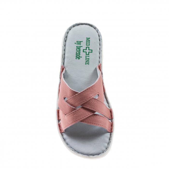 Papuci confortabili dama 472 Roz2 2
