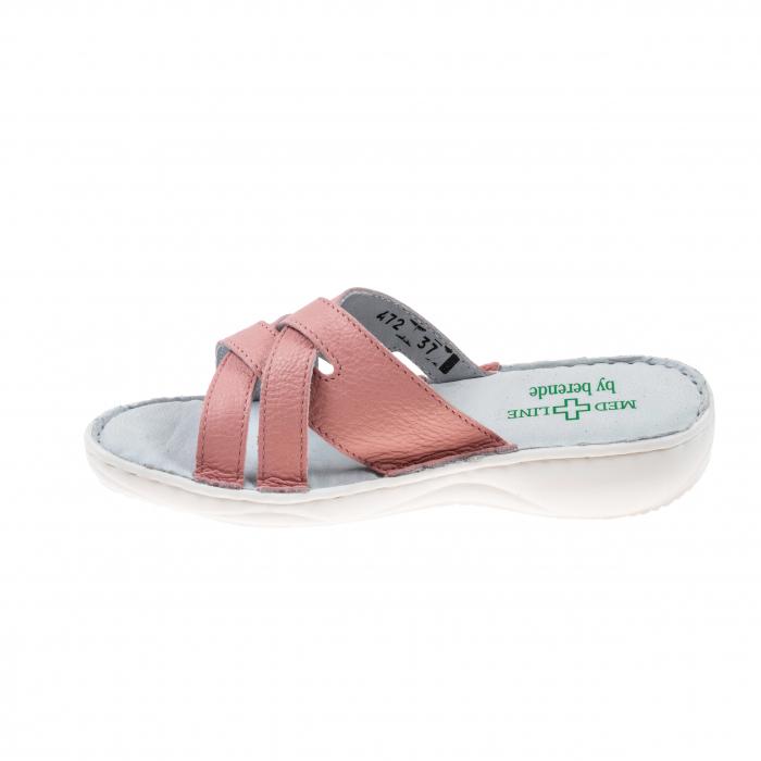Papuci confortabili dama 472 Roz2 3