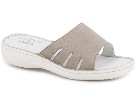 Papuci confortabili dama Bej 137 0