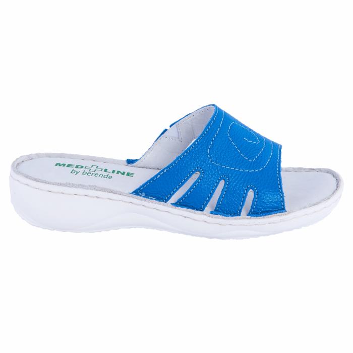 Papuci confortabili dama, Medline, Albastru 137 [0]