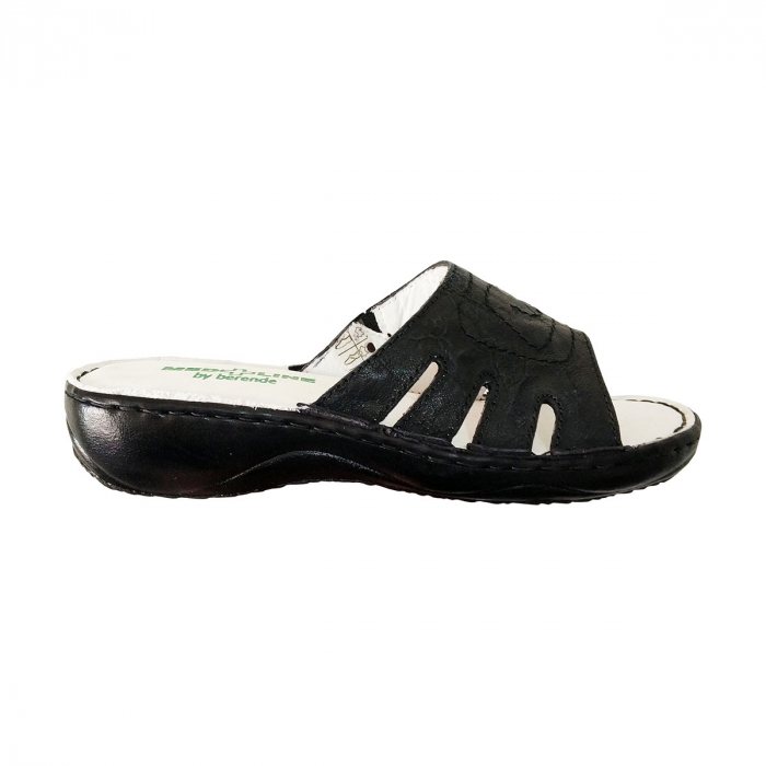 Papuci confortabili dama, Medline, Negru 137 [0]
