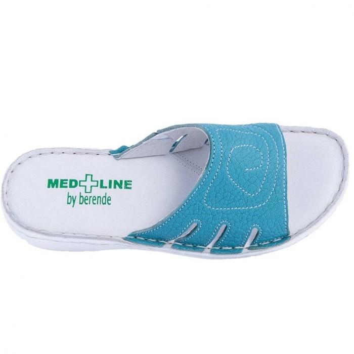 Papuci confortabili dama, Medline, Turcoaz 137 1