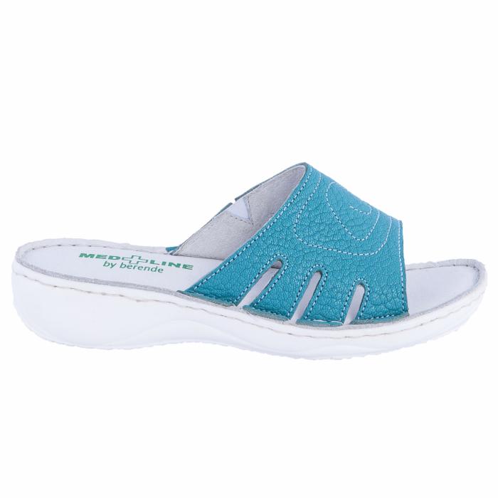 Papuci confortabili dama, Medline, Turcoaz 137 0
