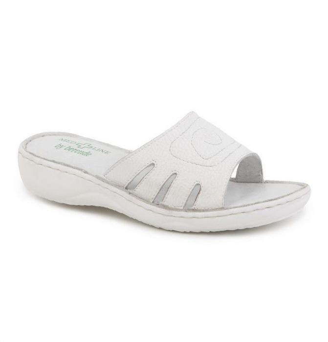 Papuci confortabili dama Medline Alb 137 [1]