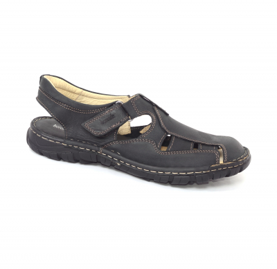 Sandale barbati 334 Negru0