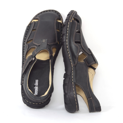Sandale barbati 334 Negru2