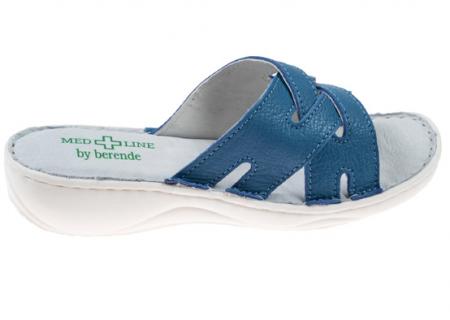 Papuci confortabili dama 472 Albastru0