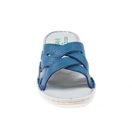 Papuci confortabili dama 472 Albastru1