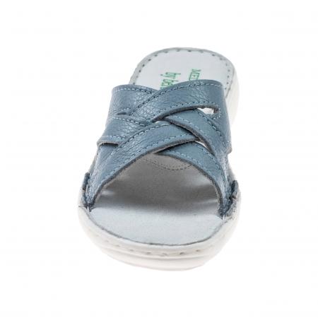 Papuci confortabili dama 472 Blu Sky1