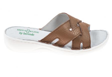 Papuci confortabili dama 472 Cappuccino0