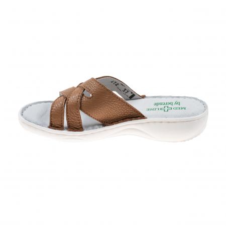 Papuci confortabili dama 472 Cappuccino [3]