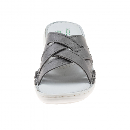 Papuci confortabili dama 472 Grey1