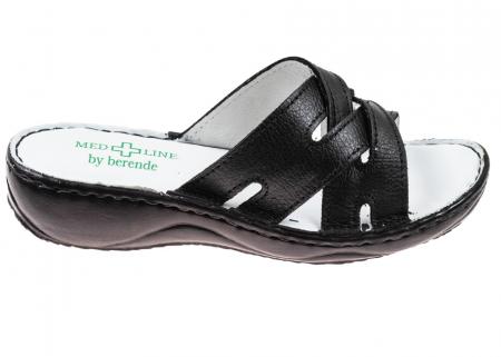Papuci confortabili dama 472 Negru0