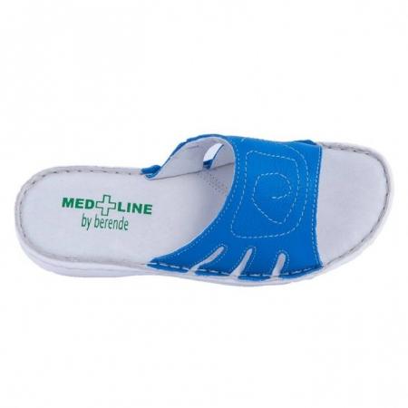 Papuci confortabili dama, Medline, Albastru 137 [1]