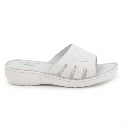 Papuci confortabili dama Medline Alb 137 [0]