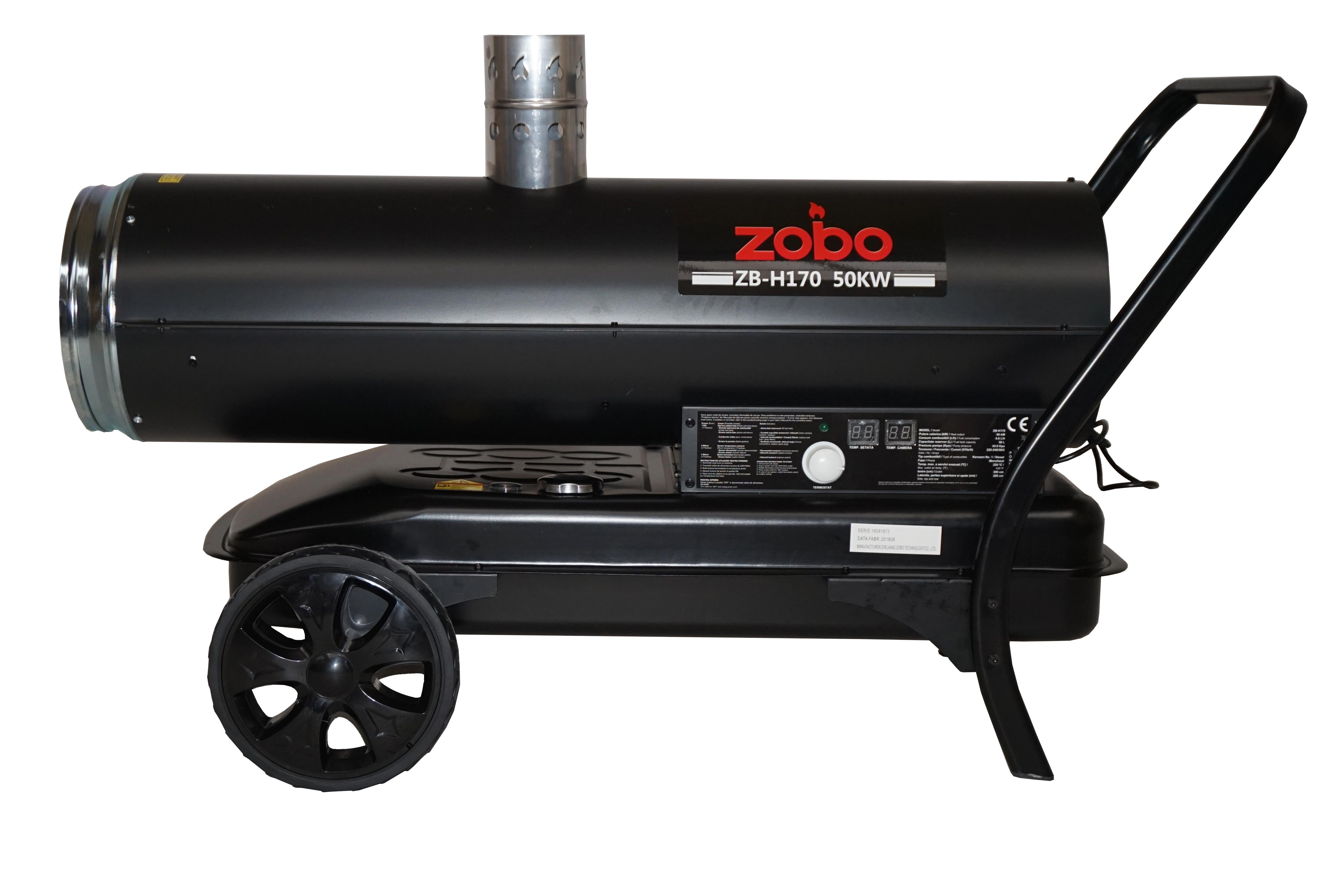 Zobo ZB-H170 Tun de aer cald, ardere indirecta, 50kW [1]