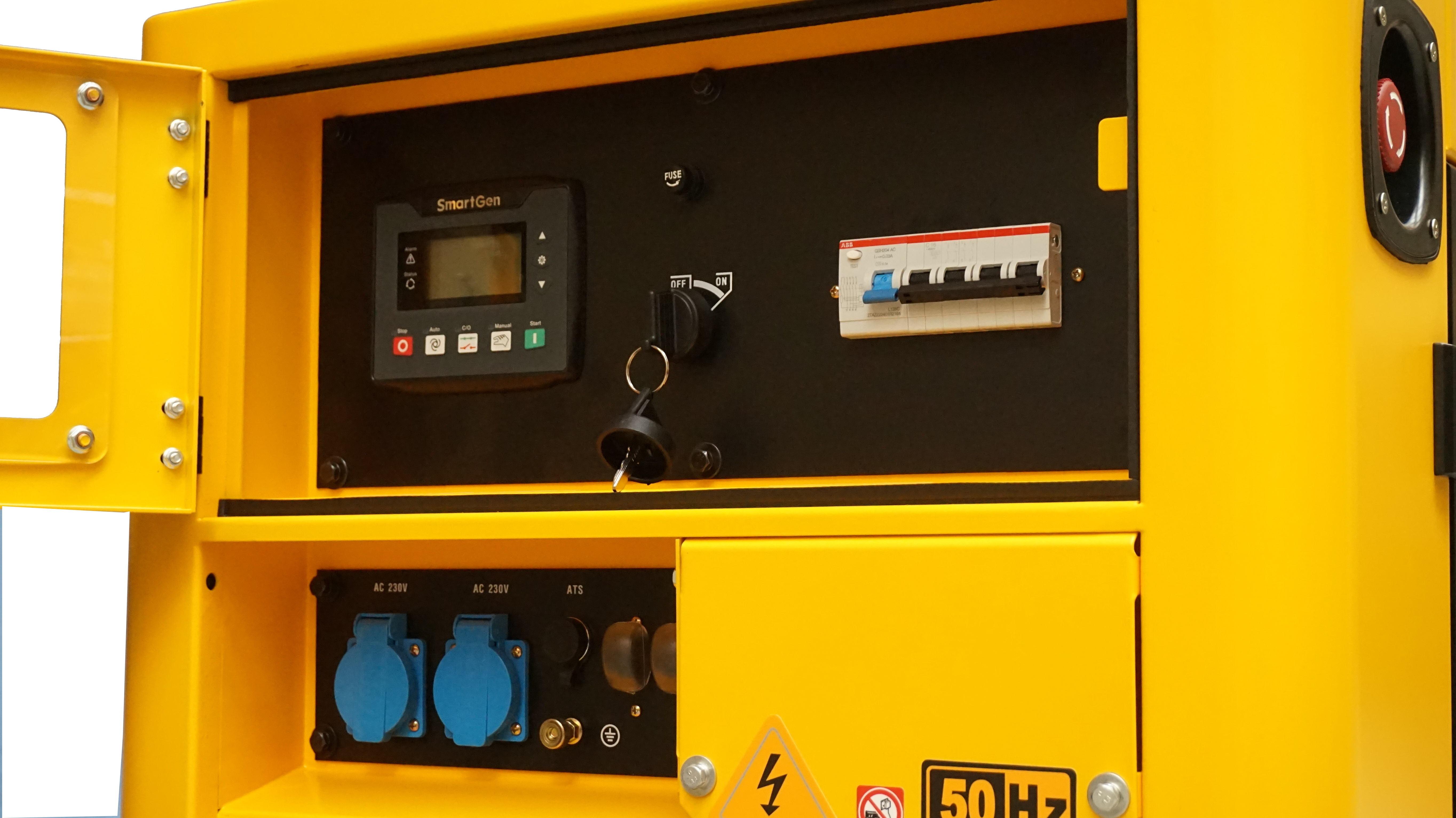 Stager YDE12T3 Generator insonorizat diesel trifazat 10kVA, 14A, 3000rpm [0]