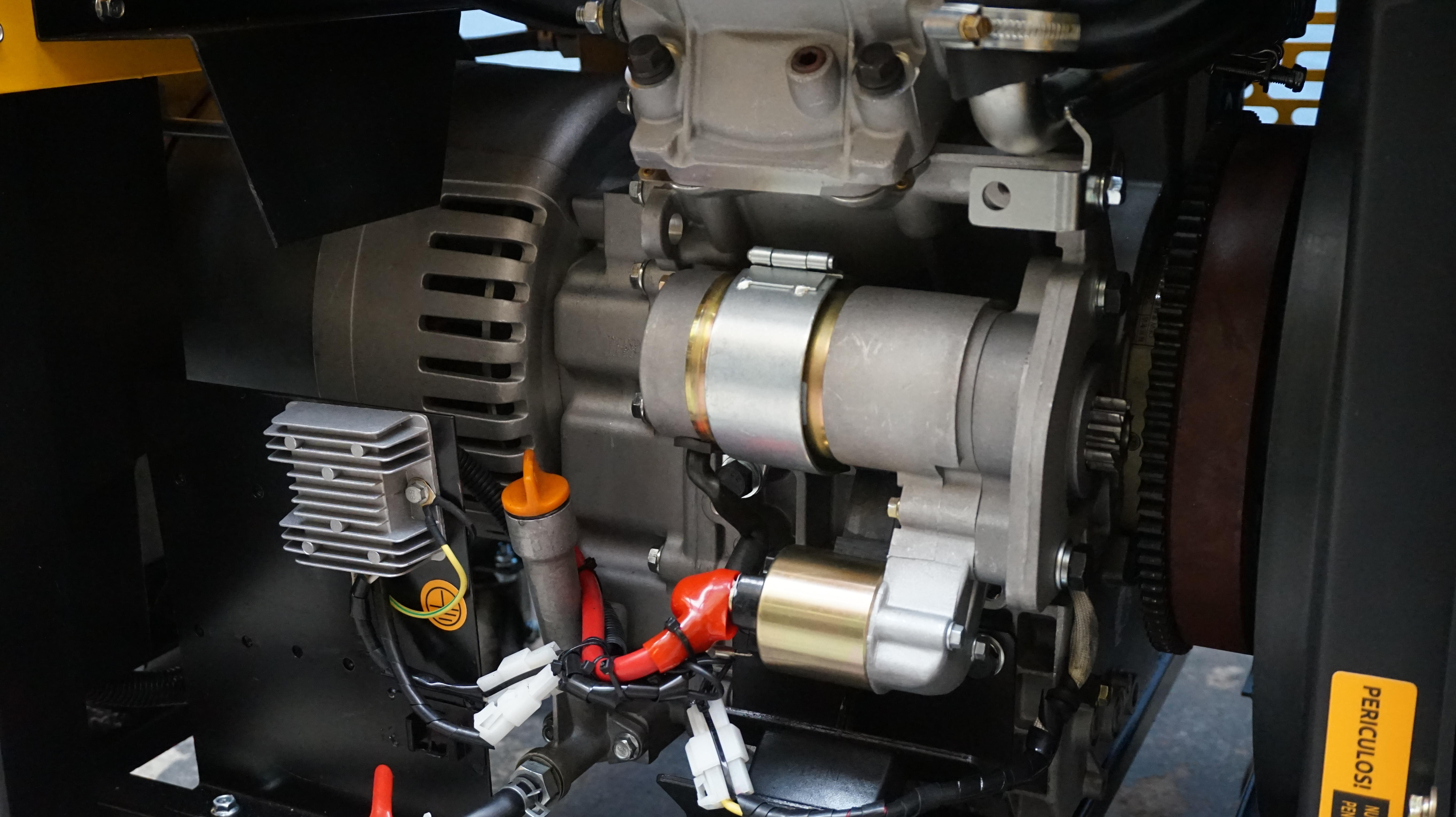 Stager YDE12E Generator open frame diesel monofazat, 8.5kW, pornire la cheie 2