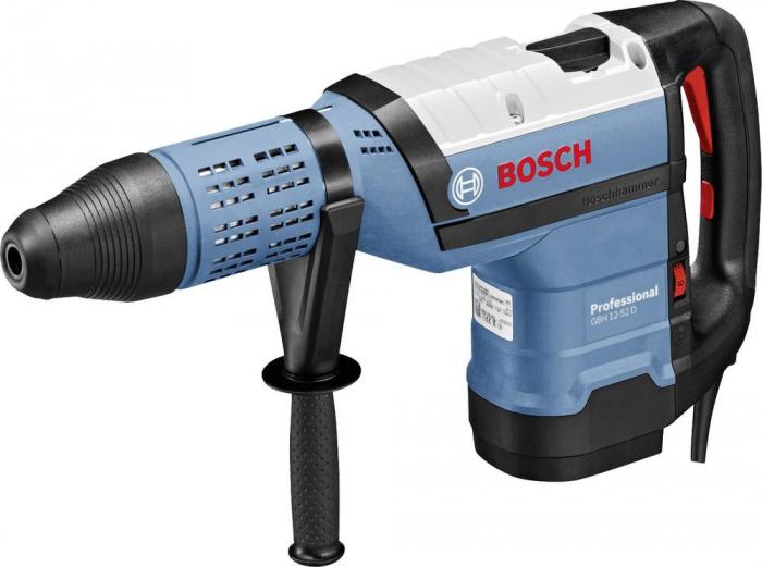 Bosch GBH 12-52 D Ciocan rotopercutor, 1700W, 19J, SDS-max 0