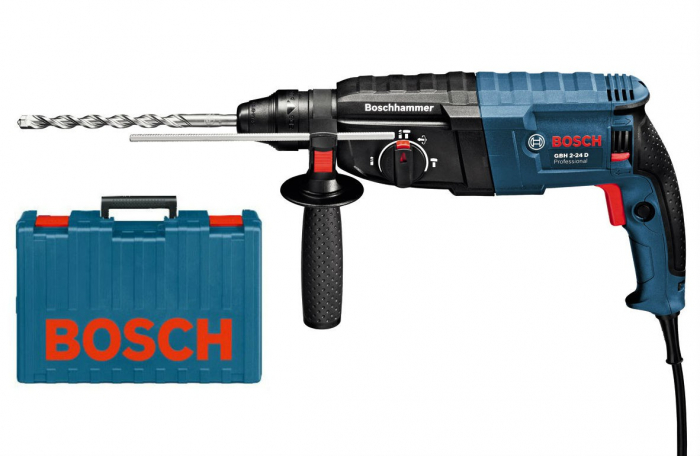 Bosch GBH 2-24 D ciocan rotopercutor, 790W, 2.7J, SDS Plus 0