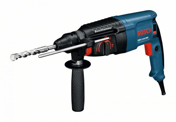 Bosch GBH 2-26 DRE Ciocan rotopercutor, 800W, 2.7J, SDS Plus [0]