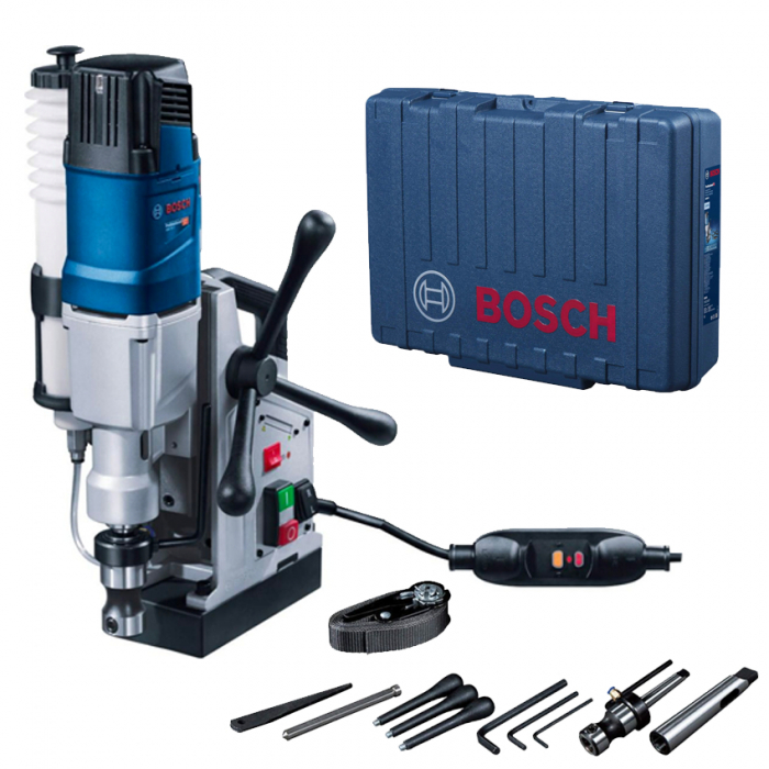 Bosch GBM 50-2 Masina de gaurit, 1200W + valiza + suport de gaurit + accesorii [0]