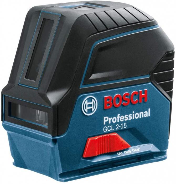 Bosch GCL 2-15 Professional + BT 150 Nivela laser cu puncte si linii, 15m, precizie 0.3mm/m 2