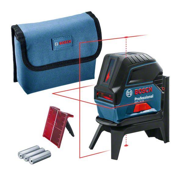 Bosch GCL 2-15 Professional + RM1 Nivela laser cu puncte si linii, 15m, precizie 0.3mm/m 0