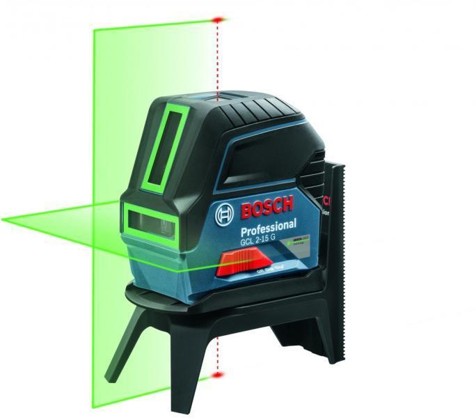 Bosch GCL 2-15G + RM1 Nivela laser cu puncte si linii, 15m, precizie 0.3 mm/m 0