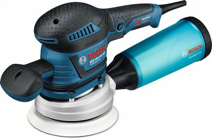 Bosch GEX 125 - 150 AVE Slefuitor cu excentric, 400W, 150mm, L-Boxx 0
