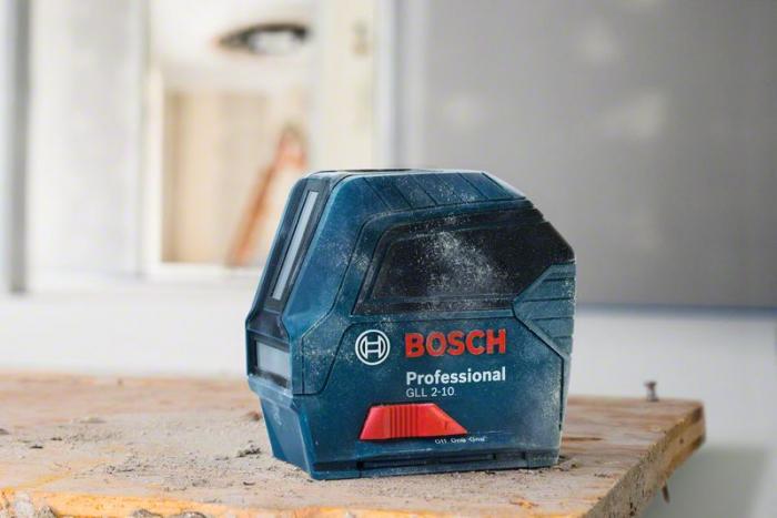 Bosch GLL 2-10 Nivela laser cu linii, 10m, precizie 0.3 mm/m [1]