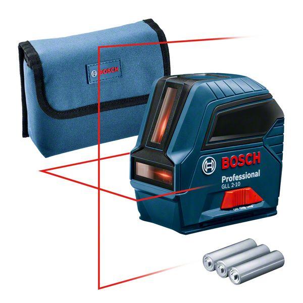 Bosch GLL 2-10 Nivela laser cu linii, 10m, precizie 0.3 mm/m [2]