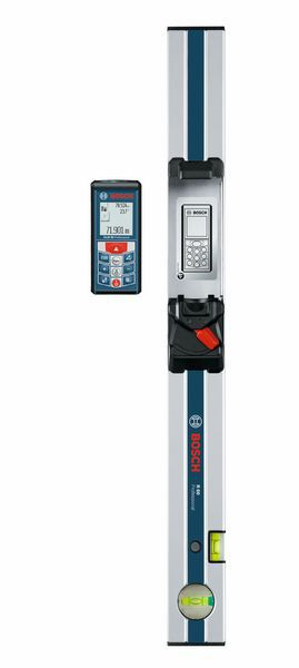 Bosch GLM 80 Telemetru laser + R60 Nivela manuala, 80m, precizie 1.5 mm/m [0]