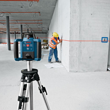 Bosch GRL 250 HV Nivela rotativa, receptor 125m, precizie 0.1 mm/m 1