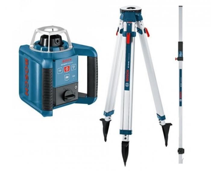 Bosch GRL 300 HV Nivela laser rotativa (300 m) + BT 170 Trepied + GR 240 Rigla [0]