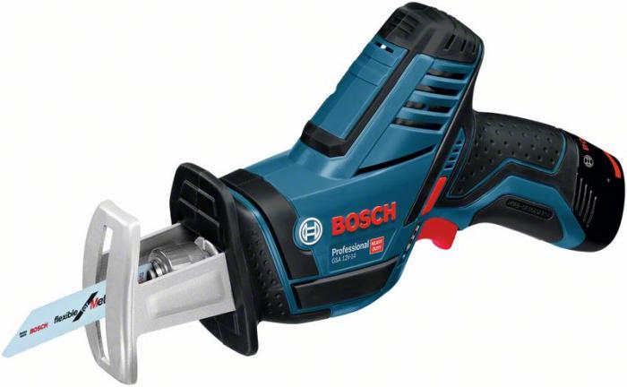 Bosch GSA 12V-14 Ferastrau sabie cu acumulator, 12V, 65mm, cutie carton (solo) 0