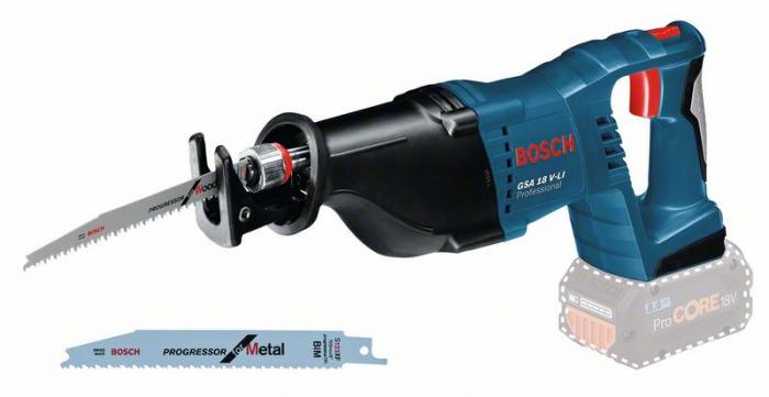 Bosch GSA 18V-LI Ferastrau sabie cu acumulator, 18V, 28m, cutie carton (solo) [1]