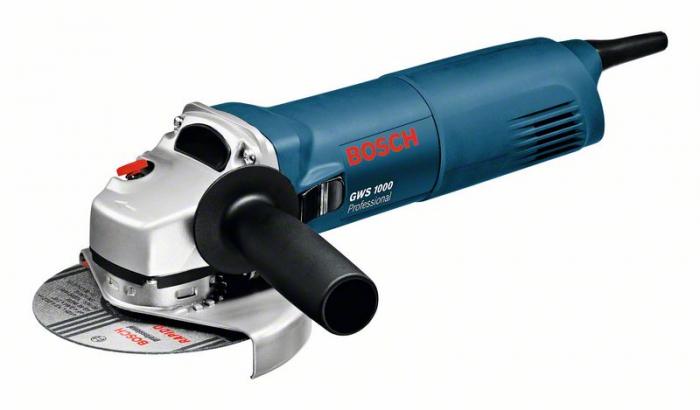 Bosch GWS 1000 Polizor unghiular, 1000W, 125mm [0]