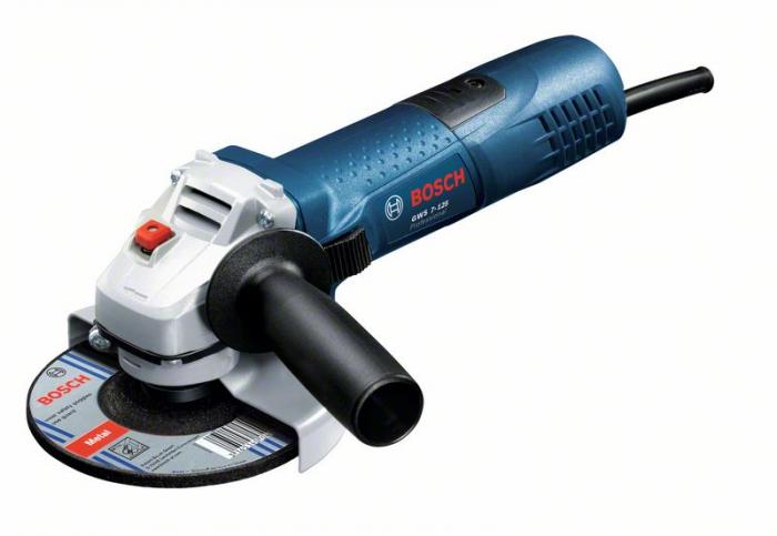 Bosch GWS 7-125 Polizor unghiular, 700W, 125mm 0