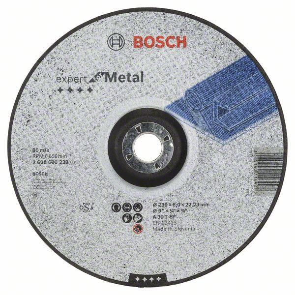 Disc de degrosare cu degajare Expert for Metal A 30 T BF, 230mm, 6,0mm [0]