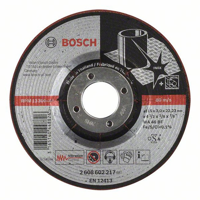 Disc de degrosare semiflexibil WA 46 BF, 115mm, 3,0mm [0]