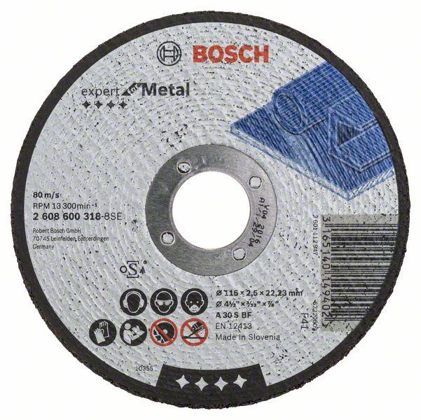 Disc de taiere drept Expert for Metal A 30 S BF, 115mm, 2,5mm [0]