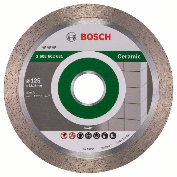 Disc diamantat Best for Ceramic 125x22,23x1,8x10mm 0
