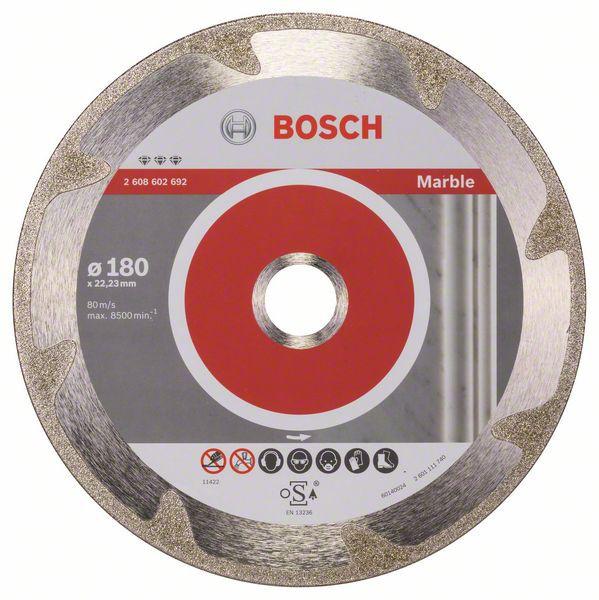 Disc diamantat Best for Marble 180x22,23x2,2x3mm 0