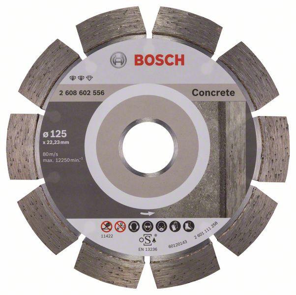 Disc diamantat Expert for Concrete 125x22,23x2,2x12mm 0