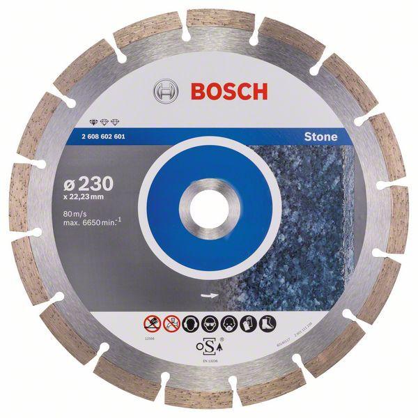 Disc diamantat Standard for Stone 230x22,23x2,3x10mm 1