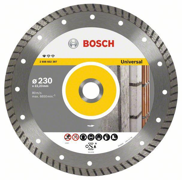 Disc diamantat Standard for Universal Turbo 125x22,23x2x10mm 1